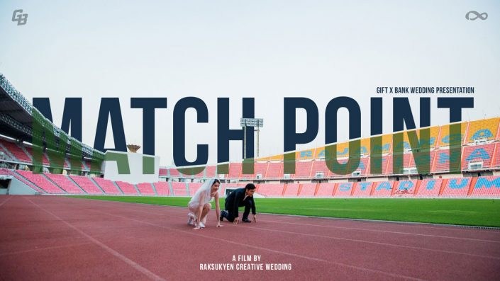 Match Point | Gift x Bank Wedding Presentation